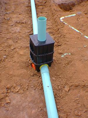 Gravity distribution systems onsite sewage treatment program for Gravity septic system design