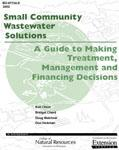Small Community Wastewater Solutions cover.